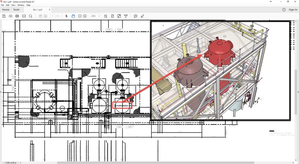Navisworks to 3D PDF