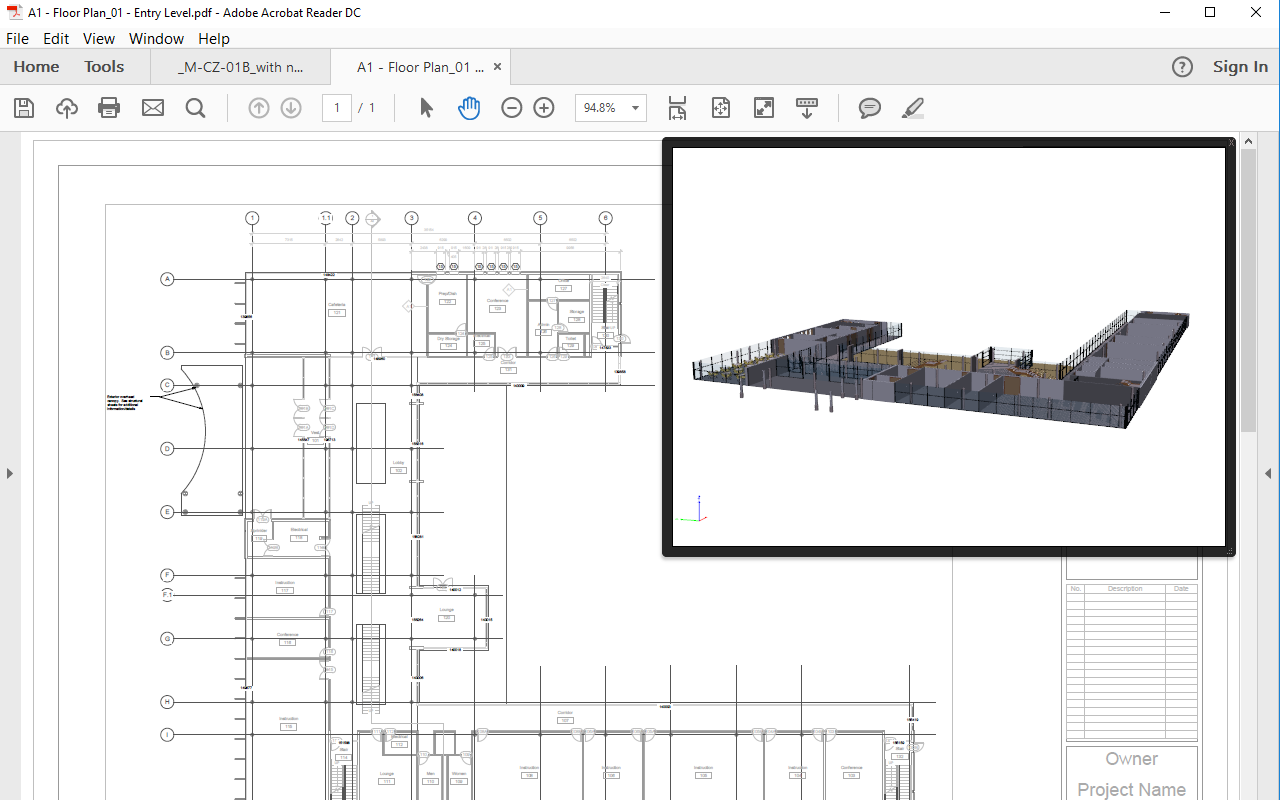 3d pdf exporter for revit intratech for Turn floor plan into 3d model